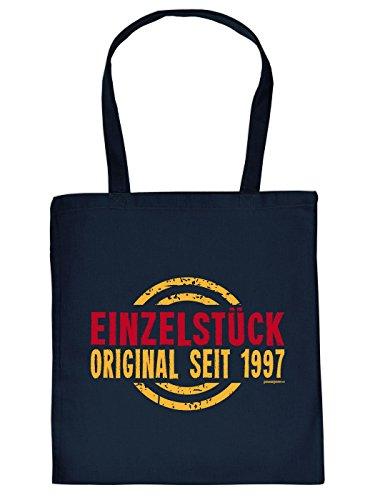 Geschenktipp: Tasche zum 18. Geburtstag, navyblau: EINZELSTÜCK Original seit 1997 - von Goodman Design