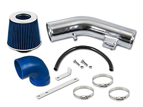RL Concepts Blue Short Ram Air Intake Kit + Filter 05-10 For Chevrolet Cobalt 2.2 2.4 L4 ()