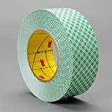 3M 9589 White Bonding Tape - 1 in Width x 9 mil Thick - Densified Kraft Paper Liner - 23205 [PRICE is per ROLL]