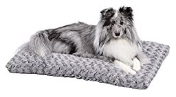 MidWest Quiet Time Pet Bed Deluxe Gray Ombre Swirl 29\