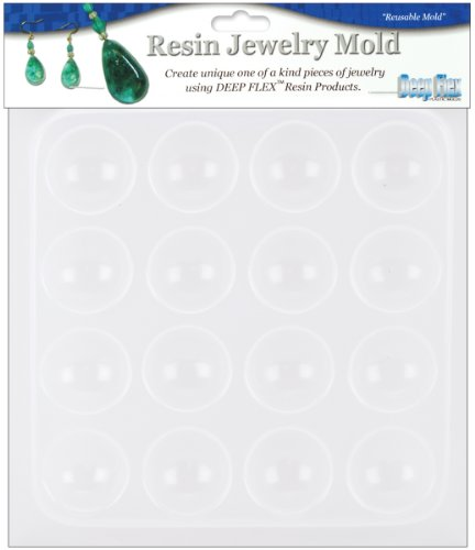 (Yaley Resin Jewelry Reusable Plastic Mold 6-1/2