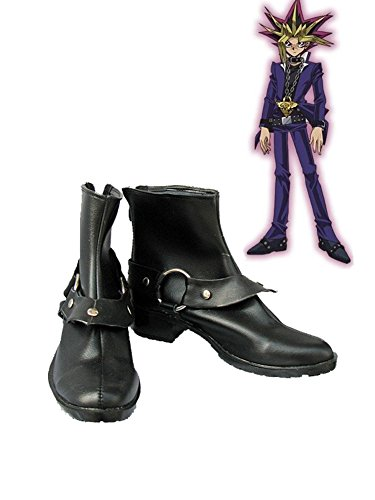 Yu-Gi-Oh! Yugi Muto Cosplay Shoes Boots Custom Made