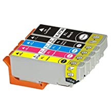 Toner Clinic TC-T273XL 5PK 1 Black 1 Photo Black 1 Cyan 1 Magenta 1 Yellow Remanufactured Inkjet Cartridge for Epson T273 T273XL 273 #273XL T273XL020 T273XL120 T273XL220 T273XL320 T273XL420 High Capacity Compatible With Epson Expression Premium XP-520 Small-in-One Expression Premium XP-600 Small-in-One Expression Premium XP-610 Small-in-One Expression Premium XP-620 Small-in-One Expression Premium XP-800 Small-in-One Expression Premium XP-810 Small-in-One Expression Premium XP-820 Small-in-One