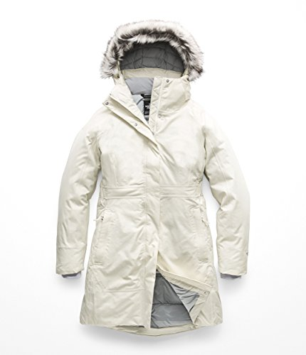 Winter Face Coat North - The North Face Women's Arctic Parka II - Vintage White - M