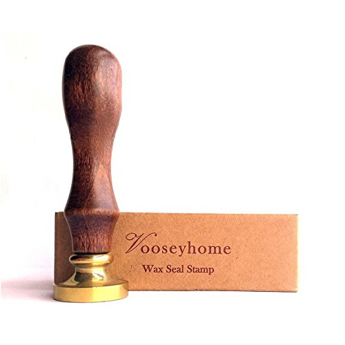 Vooseyhome The Cute Owl Wax Seal Stamp with Rosewood Handle - Ideal for Decorating Gift Packing, Envelopes, Parcels, Cards, Letters, Invitations, Signature and Everything You Like! by VOOSEYHOME (Image #4)