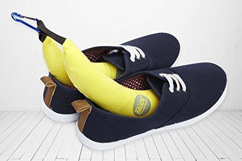 Boot Bananas – Angenehm riechende und Feuchtigkeit absorbierende Schuherfrischer für Kletterschuhe, Laufschuhe und andere Käsefüße!