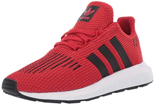 adidas Originals Baby Swift Running Shoe, Scarlet/Black/White, 5K M US Toddler