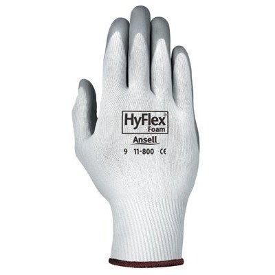 12 pares Ansell Hyflex 11-800 tamaño 10 XL de espuma de nitrilo recubierto guantes de trabajo