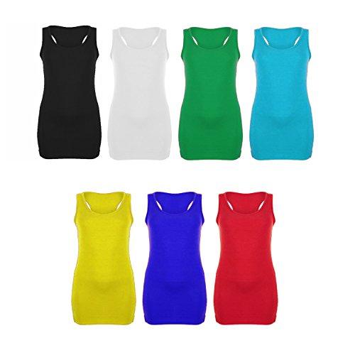 LessThanTenQuid - Camiseta sin mangas - para mujer turquesa