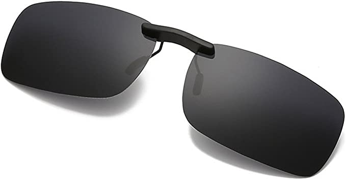 Polarized Clip on Sunglasse Classic Sunglasses for Prescription Eyeglasses//Anti-glare//UV Protection-for Myopia Glasses Outdoor//Driving//Fishing