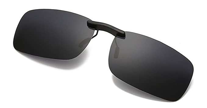 9912cb0a63 Polarized Clip on Sunglasse Classic Sunglasses for Prescription Eyeglasses  Anti-glare UV Protection-for Myopia Glasses Outdoor Driving Fishing  ...
