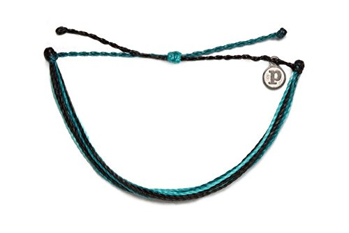 Pura Vida Surfboard Leash Bracelet- 100% Waterproof Wax Coated Girls