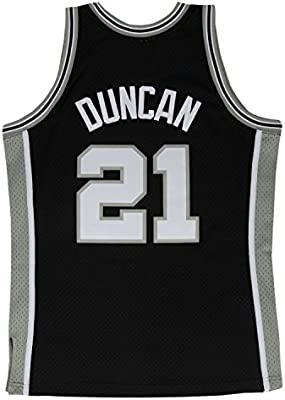 f2e644d76 Tim Duncan San Antonio Spurs Mitchell and Ness Men s Black Throwback Jesey. Tim  Duncan San Antonio Spurs Mitchell and Ness Men s Black ...