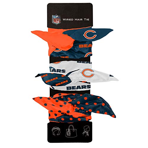 Littlearth NFL Chicago Bears Wired Hair - Chicago Bears Wear