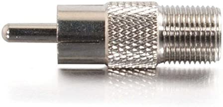 C2g Av Line 27313 Rca Male To F-type Female Cabl Adapter
