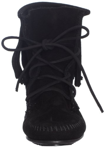 Minnetonka Womens Tramper Ankle Hi Boot Nero