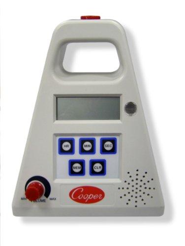 Cooper-Atkins FT24-0-3 Large Single Station Digital Timer, 24 Hour Digital with Volume Control, 24 Hours Unit Range by Cooper
