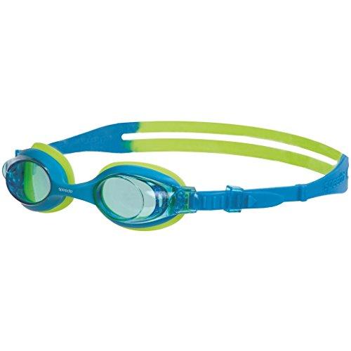 Speedo Schwimmbrille Sea Squad Skoogle Jr, Blue/Green, One Size, 8-073598029