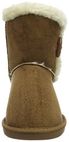 Tobacco Courtes Canadians Braun Femme 370 Avec Doublure Bottes Chaude Marron Boots vEqUxES