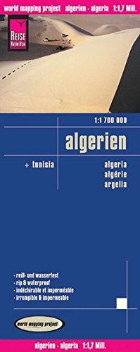 Reise Know-How Landkarte Algerien, Tunesien (1:1.700.000): world mapping project
