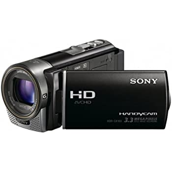 Sony HDR-CX160 High-Definition Handycam Camcorder (Black) (Discontinued by Manufacturer)