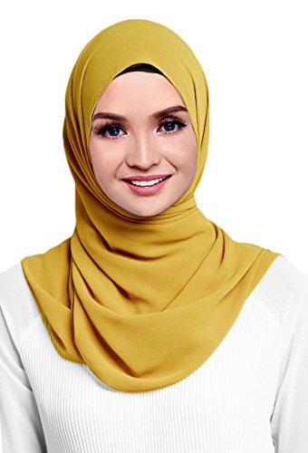 Hana's Womens Georgette Chiffon Hijab (One Size, ()