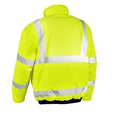 antivento giacca da lavoro /Giacca catarifrangente Pilot Whistler impermeabile 4118 Giallo teXXor/