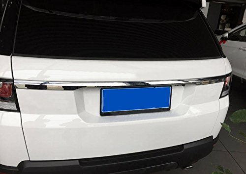 ABS Exterior Accessories Rear Back Trunk Lid Cover Trim 1PCS For Land Rover Range Rover Sport 2014-2016