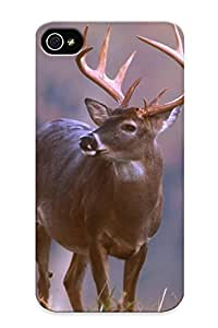 Graceyou Durable Deer Image Deer Graphic Code Back Case/ Samsung Galxy S4 I9500/I9502 For Christmas