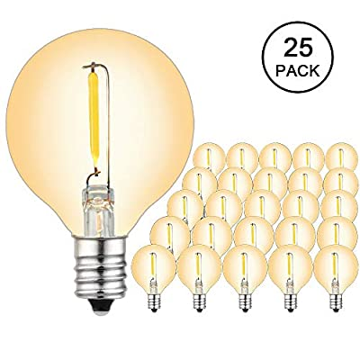 Brimax 25pack Led Outdoor Edison Light Bulbs For
