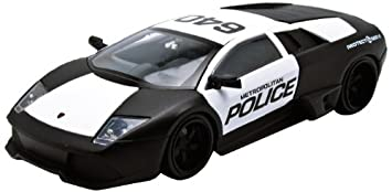 Lamborghini Murcielago Lp640 Police Car 1 24 Diecast Model Cars