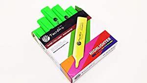 TechPro Highlighter Green Packet(10pcs)