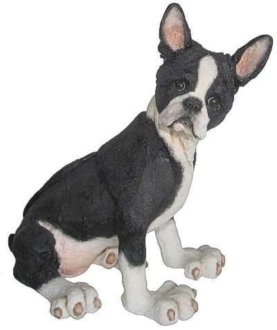 A Breed Apart Dog Figurines Boston Terrier Amazon Co Uk Kitchen