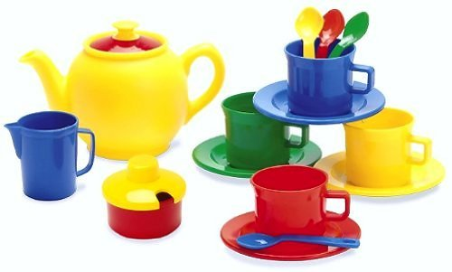 Dantoy - Tea Time-15 Piece Set (Colors may Vary) ()