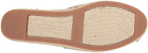 Sandal Wedge Ralph Women's Espadrille Lauren by Dillan Lauren Black White 10qA5H5Y