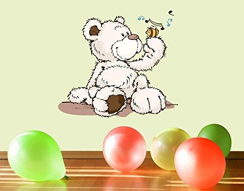 Klebefieber Wandtattoo Classic Bear B x H  60cm x 54cm B00T87HSQA Wandsticker & Wandfiguren