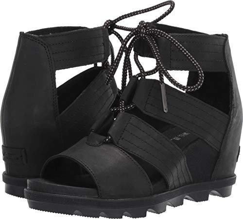 SOREL - Women's Joanie II Lace Sandals, Size: 10.5 B(M) US, Color: Black ()