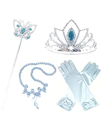 Princess Cinderella Dress up Party 4-Piece Accessories Gift Set