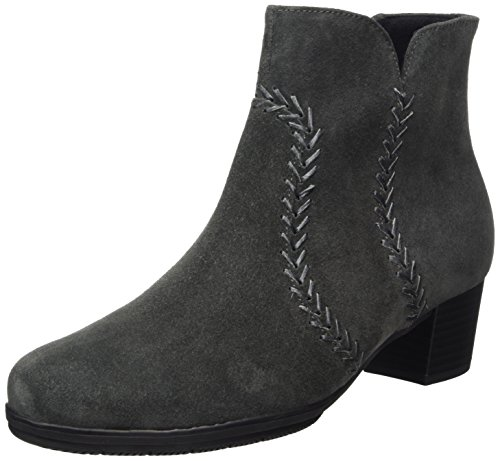 Gabor Shoes 19 Mujer Basic Gabor para Botas Gris Pepper 5dnwqWv1W