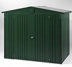 Store More Europa Metal Shed Size 1 : Finish Color - Green