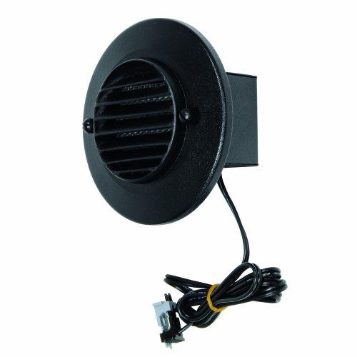 LED Round Deck Light, Black (Round Deck Light)