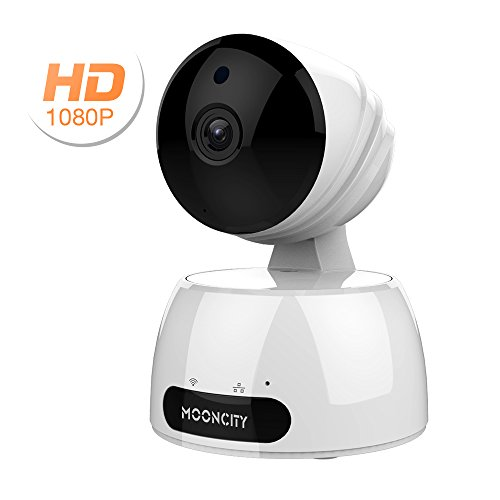 Security & Protection Video Surveillance 1080p Hd Network Camera Two-way Audio Wireless Network Camera Night Vision Motion Detection Camera Robot Pet Baby Monitor Drip-Dry