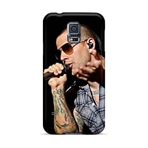 Durable Hard Cell-phone Cases For Samsung Galaxy S5 With Customized High Resolution Avenged Sevenfold Band A7X Skin JonBradica