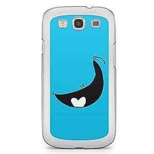 Smiley Samsung Galaxy S3 Transparent Edge Case - Design 3