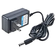 PwrON 6.6 FT 9V Center Negative AC to DC Adapter Replacement For Casio AD-5 AD-5EL AD-5MLE AD-5MR AD-5MU AD-5UL Keyboard Power Supply