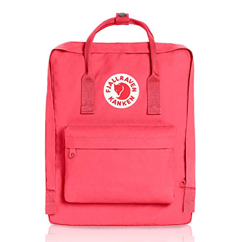 Fjallraven - Kanken Classic Pack, Heritage and Responsibility Since 1960, One Size,Peach Pink