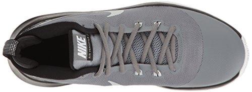 Nike Air Mens Scarpa Da Basket Versatile Freddo Grigio / Platino Puro / Lupo Grigio / Nero