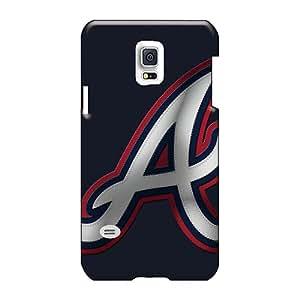 Samsung Galaxy S5 Mini HEz2231qVGd Custom Colorful Atlanta Braves Series Scratch Protection Hard Phone Covers -hardcase88