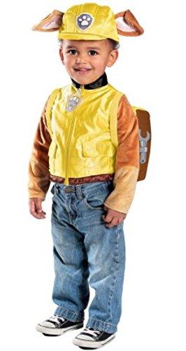 Paw Patrol Halloween Costumes Rubble (Princess Paradise Paw Patrol Rubble Costume, Yellow, 18m/2 Tall)