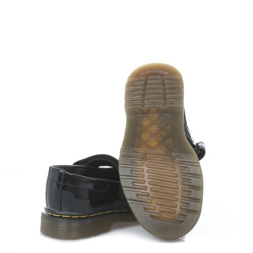 Martens M/ädchen MACCY Patent Lamper BLACK Slipper Dr